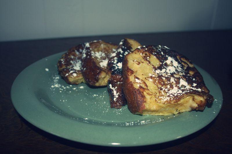 Frenchy toast